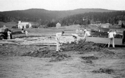 Arbeitsdienst in Hattfjelldal (1940)